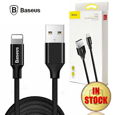 AU9.95 • Buy Baseus Yiven Fast Charging Cable Charger Cable 3M Black For Apple IPhone IPad