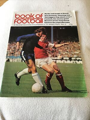 Book Of Football Marshall Cavendish 1971 Part 2 • 1.50£