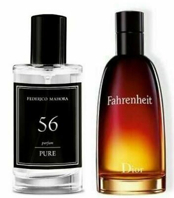 FM 56 Pure Collection Federico Mahora Perfume For Men 50ml Parfum Gift  • 15.99£