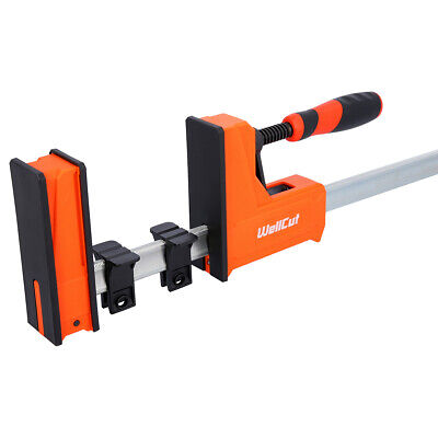 £25.99 • Buy Wellcut Parallel Jaw Woodworking Clamp 95X600 Clamping Force 600 Kg
