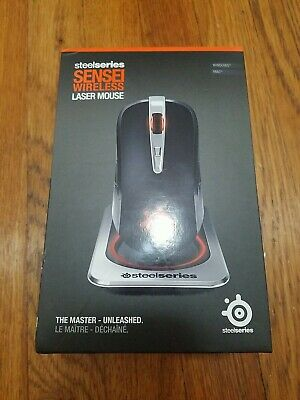 £118.27 • Buy SteelSeries Sensei Wireless Laser Mouse - The Master - Unleashed Gaming Mouse