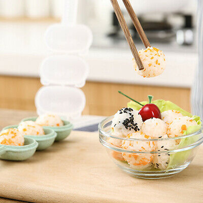 DIY Mould Lunch Rice Ball Mold Party Children With Spoon Kitchen Sushi Maker • 3.93£