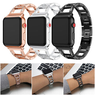 $ CDN15.17 • Buy Crystal Watch Band Strap For Apple IWatch Series 6/5/4/3/2/1 38 42 40 44mm