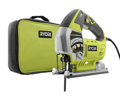 Ryobi 6.1 Amp Corded Variable Speed Orbital Jig Saw JS651L1.  Open BOX. Cracked • 21.94£