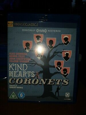 Kind Hearts And Coronets (Blu-ray, 2011) • 9£