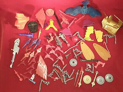 $184.99 • Buy Vintage 1980s MOTU Masters Of The Universe Accessories Weapons Parts Lot He-Man