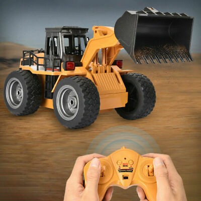 Remote Control Digger RC Kids Xmas Toy Excavator Truck Construction With Light • 28.15£