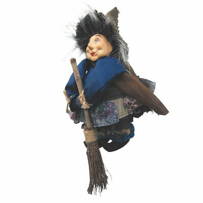 Witches Of Pendle - Lavender Garden Witch Doll Flying (Blue) 20cm Collectible  • 12.99£