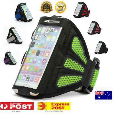 AU16.63 • Buy Outdoor Sports Gym Running Slim Armband Apple IPhone X XS 12 Plus Arm Band Case