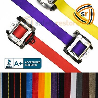 $74.99 • Buy For Toyota Corolla SEAT BELT WEBBING REPLACEMENT FRAYED STRAP HARNESS DOG CHEWED