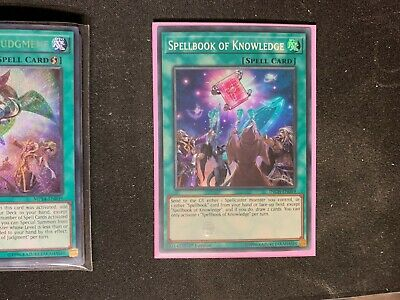 AU6.32 • Buy Spellbook Of Knowledge INCH-EN059 Super Rare 1st Edition