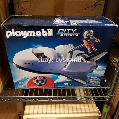 Playmobil City Action 6196 Space Shuttle Playset Toy New In Box Astronaut Nib*f3 • 114.32£