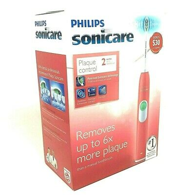 AU66.70 • Buy Philips Sonicare Plaque Control Series 2 Coral Pink Sonic Toothbrush HX6211/47