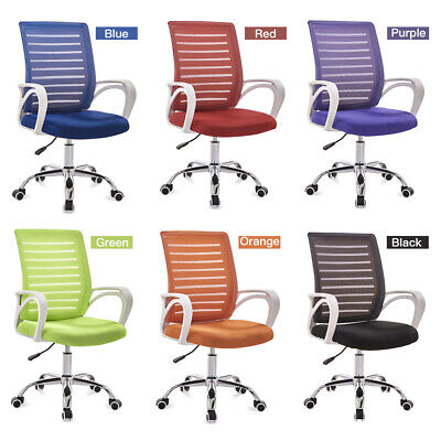AU104.99 • Buy Ergonomic Office Chair Computer Gaming Adjustable Height Mesh Back Swivel Chair
