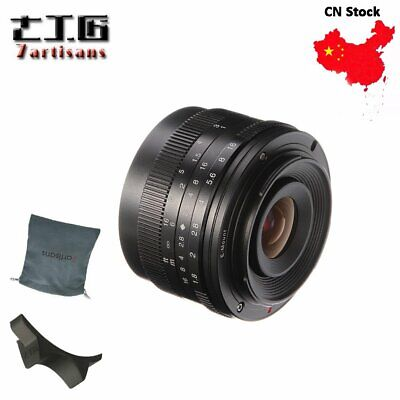 AU76.28 • Buy Cost! 7artisans 50mm F1.8 Sony E-Mount Manual Focus Lens For A6500 A6300 A6000