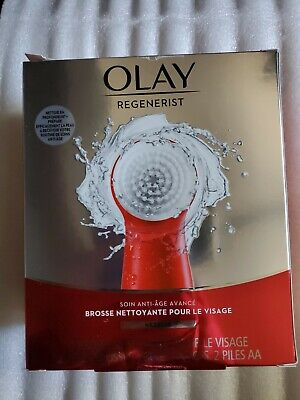AU34.45 • Buy Olay Regenerist Face Cleansing Device Tool And 2 Brush Heads (R1)