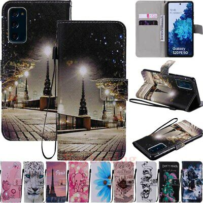 $ CDN6.05 • Buy For Samsung S20 S10 S10e S9 S8 S7 Note20 Magnetic Flip Wallet Leather Case Cover