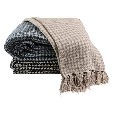 £14.99 • Buy 100% Cotton Bed - Sofa Throw Over