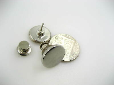 Silver Tool Free Jean Button Replacement Snap Buttons Metal Flat Adjust Button • 2.99£