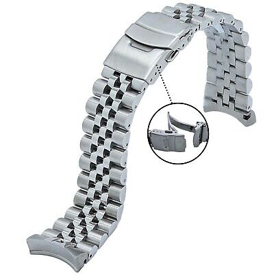 $ CDN48.51 • Buy 316L Jubilee Stainless Steel Watch Band 22MM Made To Fit SEIKO SKX007/009/011