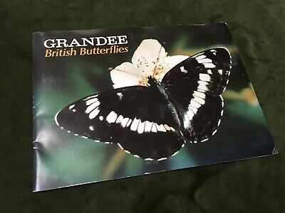 "1970s Cigar Cards ""British Butterflies"" Full Set Grandee Vintage Cigarette  • 5.83£"
