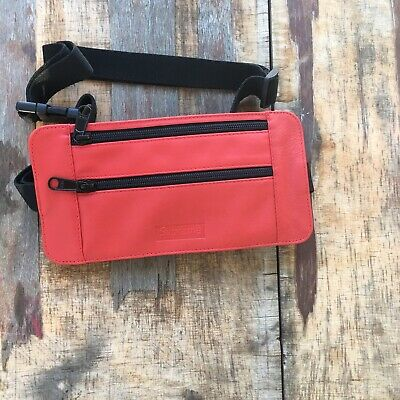$ CDN163.90 • Buy Supreme SS19 New Leather Waist Shoulder Bag Red 2019 Drop %100 Authentic