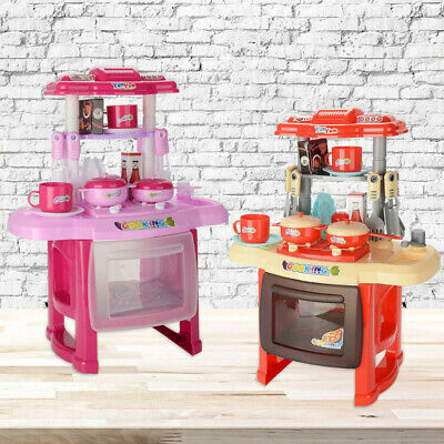 £13.79 • Buy Electronic Children Kids Kitchen Cooking Toy Portable Girls Cooker Play Set Gift