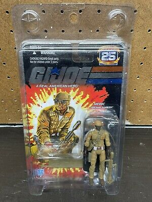 $ CDN63.78 • Buy GI JOE 25th Anniversary Medic Doc Mail Order Exclusive New On Foil Card In Case