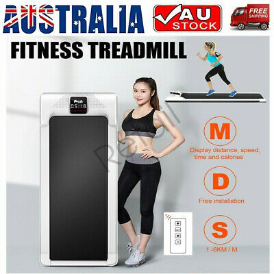 AU279.98 • Buy Electric Walking Pad Treadmill Exercise Machine Fitness LCD Display Fitness Home