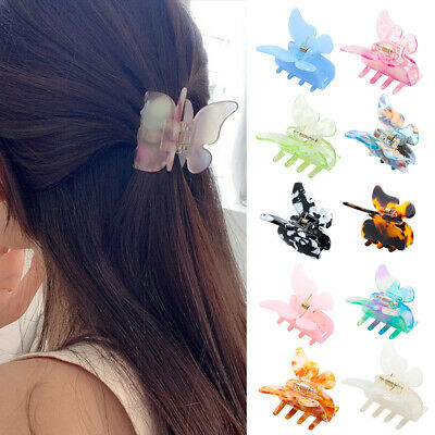 AU25.21 • Buy Ladies Fashion Butterfly Hairpin Small Hair Claw Girps  Clamps Clips Accessories