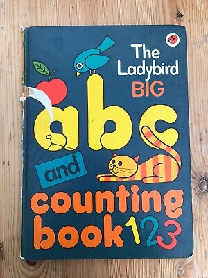 The Ladybird BIG ABC And Counting Book • 2£