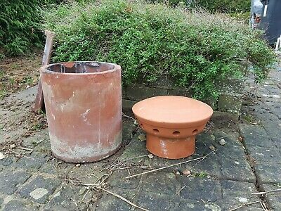 Terracotta Chimney Cowl & Pot  • 85£