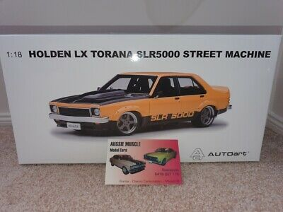 AU399.95 • Buy 1:18 Biante Holden LX SL/R 5000 Torana Street Machine  Menace  Pearl Yellow A9X