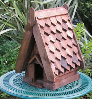 Dovecote / Dove Cote For One Pair Doves. Solid Timber. Shingle Roof .Full Size • 75£