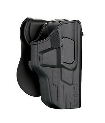 $24.99 • Buy Smith & Wesson SD9VE & SD40VE Level 2 OWB Paddle Holster W Quick Release Button