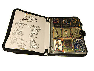 AU650 • Buy Rare Afl Card Player Signed Binder Collection