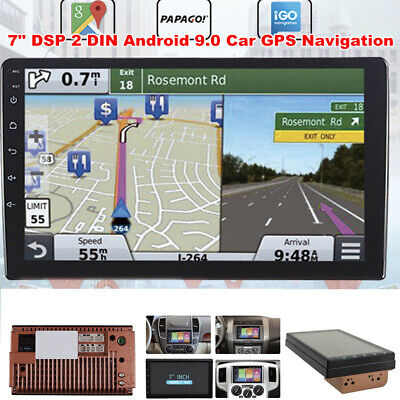 $103.49 • Buy 7  DSP 2DIN Android 9.0 Car GPS Navigation Dash Player Touch Screen Stereo Radio