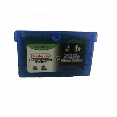 £8.65 • Buy Gameboy Advance Multicart Collection GBA Cartridge 150 NES + 106 Games In 1 Kids