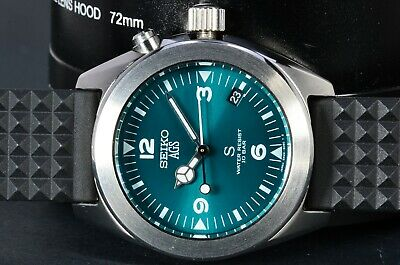 $ CDN255.23 • Buy Seiko 5M22-6C30 SCFT009 SUS Turquoise Aqua Orig Strap AGS/Kinetic Stainless 181