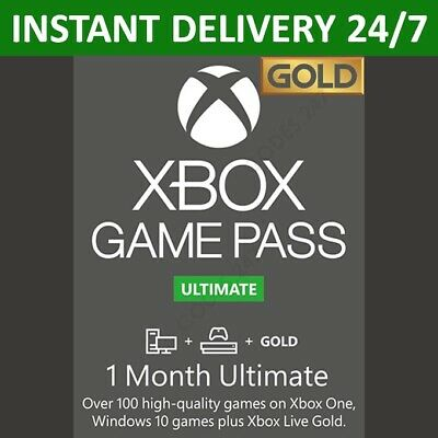 $ CDN6.81 • Buy Xbox Live 1 Month Gold & Game Pass Ultimate Membership (2x 14 Day Pass) INSTANT