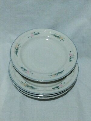 £5 • Buy 4 X Crown Dynasty Saucers. Tulip Design Pattern
