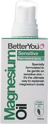 BetterYou Magnesium Oil Sensitive Body Spray For Joints & Muscles 100ml • 14.99£