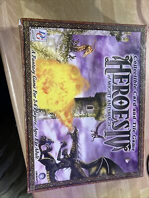 Heroes Of Might And Magic 4 - Collectible Card And Tile Game • 20£