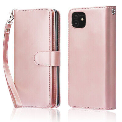 AU39.99 • Buy 2020 IPhone 12 Pro Max Wallet Case, With Card Holder Slim Folio Cover For Apple
