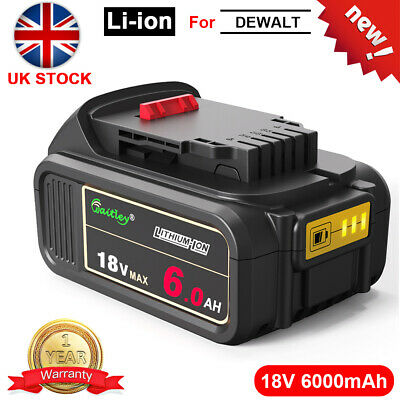 For DeWalt DCB184 18V 5.0Ah Li-ion XR Slide Battery DCD785 DCF885 DCB182 DCB180 • 24.98£