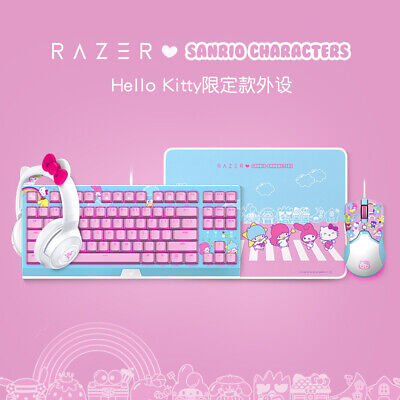 AU573.04 • Buy Razer X Sanrio Hello Kitty¹ Headset, Keyboard, Mouse And Mouse Pad Combo