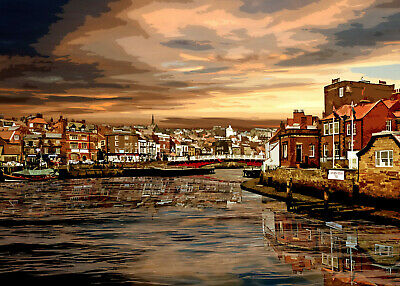 £30 • Buy WHITBY Special Edition Limited Art Print By Sarah Jane Holt