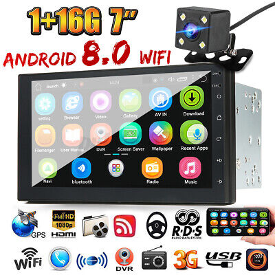 AU128.99 • Buy 7  Android 8.0 Car Stereo MP5 Player FM Radio GPS WiFi Bluetooth Head Unit