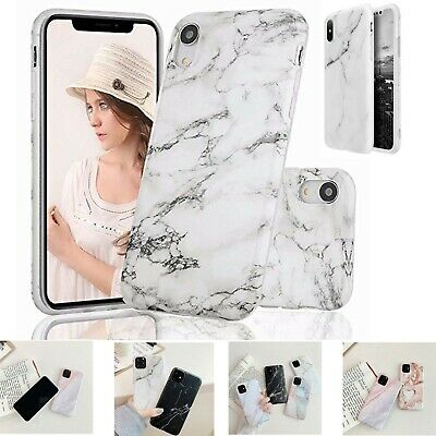 £2.48 • Buy Shockproof TPU Marble Gel Case Cover For Apple IPhone Samsung Galaxy & Huawei