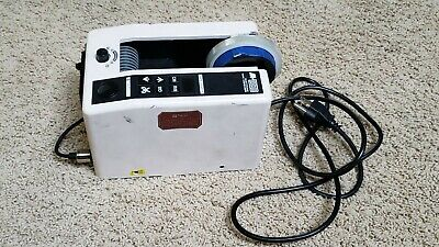 $30 • Buy Electronic Tape Dispenser With Auto Feed Cutter - M-1000 For Parts Or Repair
